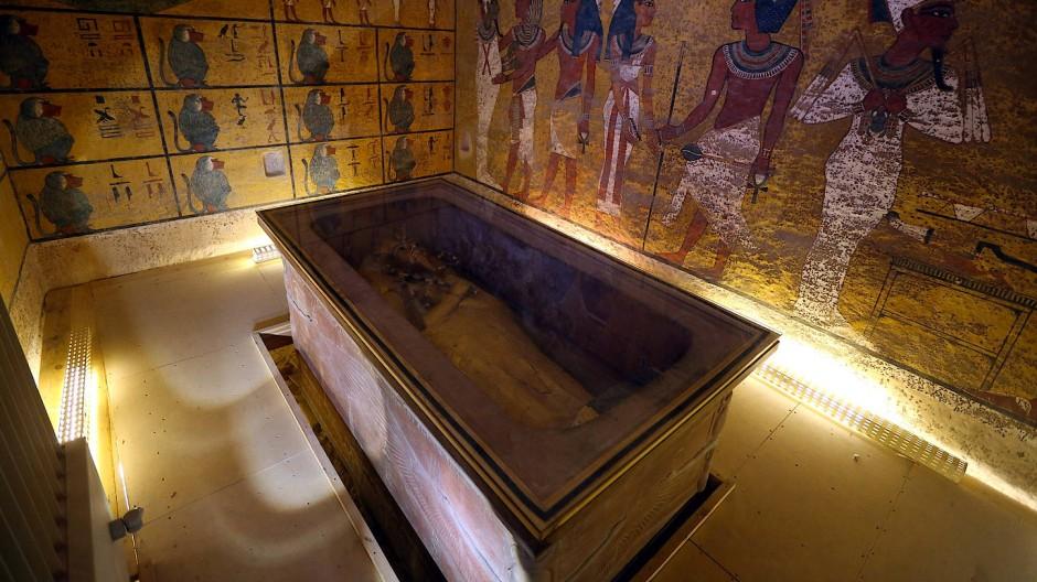 Nichts Genaues wusste man nicht über eine etwaige, noch verborgene Nebenkammer des Grabes von Tutanchamun in Luxor. Nun sind die Archäologen schlauer.