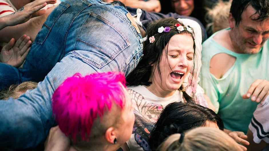 Moment der Katastrophe: Antonia (Jella Haase) inmitten des tödlichen Gedränges auf der Loveparade in Duisburg.
