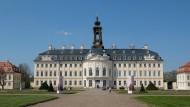 Hubertusburg, das größte sächsische Schloss: außen hui, aber innen . . .