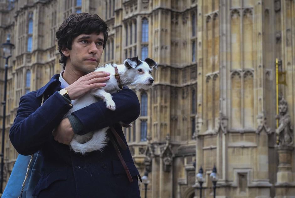 Ben Whishaw als Norman Scott.