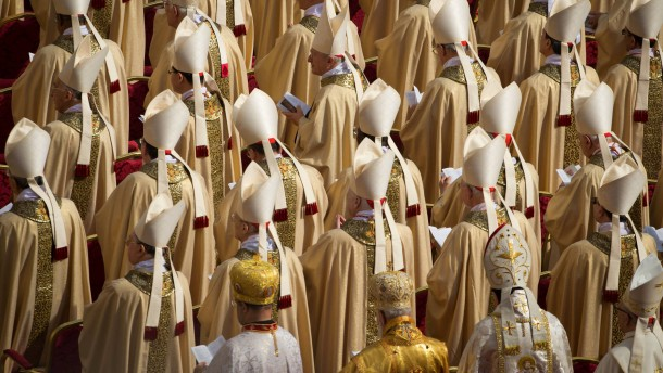 Amtseinfuehrung von Papst Franziskus