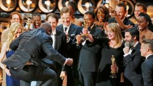 Oscars für die Favoriten, Pizza für alle