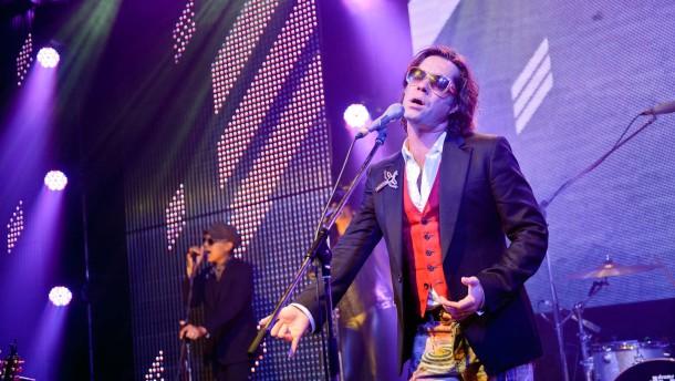 Rufus Wainwright - Der amerikanische Sänger gibt  mit seiner Band ein Konzert im Frankfurter Konzertclub Gibson.