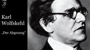 Karl Wolfskehl: Der Abgesang