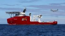 Australische Verteidigungsstreitkräfte auf der Suche nach der abgestürzten Maschine MH370 im Indischen Ozean im April 2014.