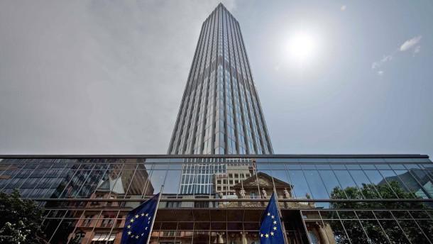 Die EZB ist bereit zu neuen Hilfen für die Banken