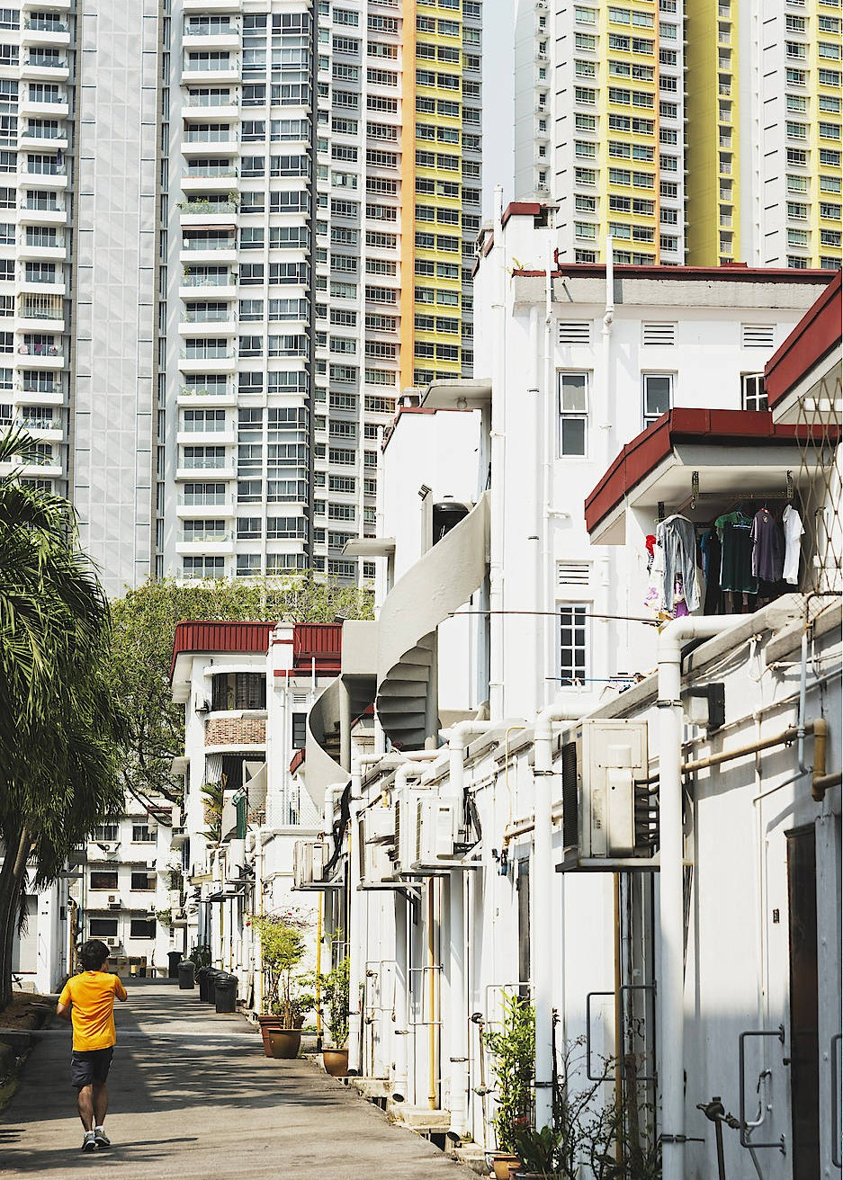 wohnen in singapur im schmelztiegel der stadt. Black Bedroom Furniture Sets. Home Design Ideas