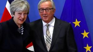 May und Juncker wollen es richten