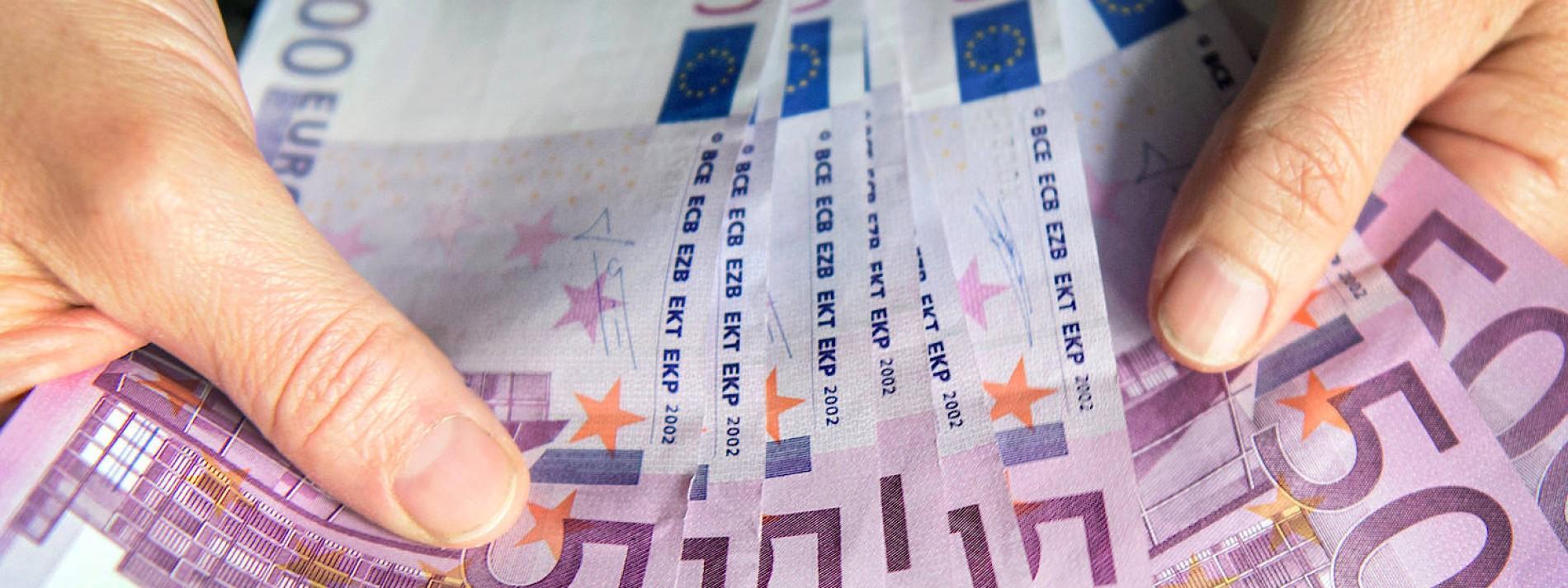 Der 500-Euro-Schein hält sich zäh