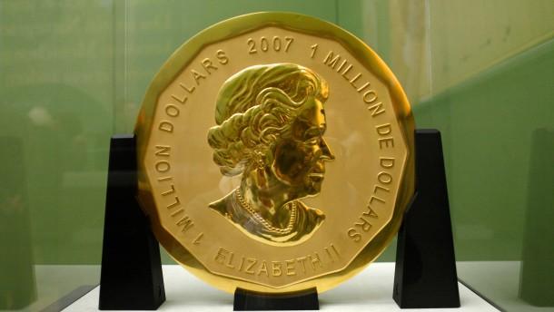 Der Raub der Riesen-Goldmünze