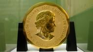 Geklaut, zerstückelt und verteilt? Die Münze Big Maple Leaf aus dem Berliner Bode-Museum.