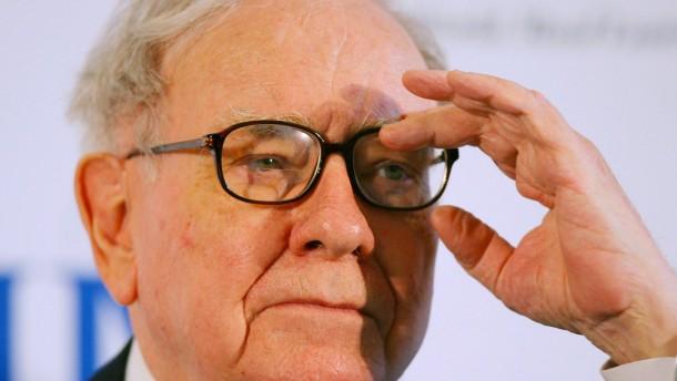 Börsenguru Buffett weiß nicht, wohin mit dem Geld