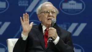 Buffetts langer Schatten an der Wall Street