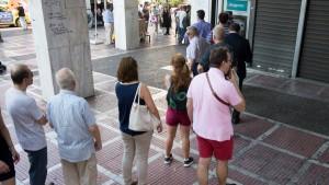 Bargeld in Griechenland angeblich nur noch für etwa zwei Tage