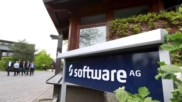 Aktienkurs der Software AG fällt deutlich