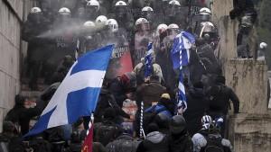 Bremse für die Griechenland-Rally