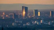 EZB in Frankfurt: Die Notenbank kauft weiter Anleihen.