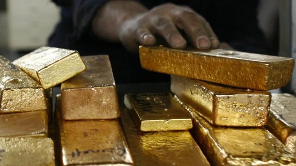 Goldreserven der Türkei sinken deutlich