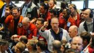 Händler an der Chicago Mercantile Exchange (CME).
