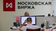 Kaum zu glauben: Hohe Kurssteigerungen an der russischen Börse