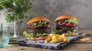 Sieht aus wie ein Burger, riecht wie ein Burger, ist aber fleischlos.