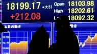 Nikkei-Index schließt auf 15-Jahres-Hoch