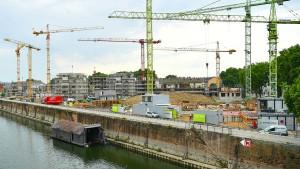 Weniger Genehmigungen für Wohnungsbau in ersten sieben Monaten