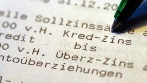 Hessische Kunden zahlen hohe Dispozinsen