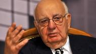 Paul Volcker war von 1979 bis 1987 Vorsitzender des Federal Reserve System der Vereinigten Staaten.