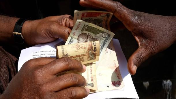 Ratespiele um die indische Wachstumsrate