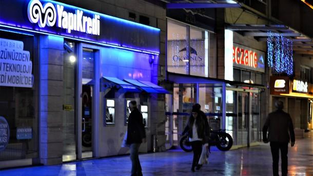 Türkischen Banken könnte die Luft ausgehen