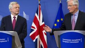 Brexit-Verhandlungen gehen in die zweite Runde