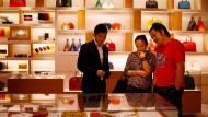 Louis Vuitton in Schanghai: Die Luxusmarke ist einer der Wachstumstreiber des LVMH-Konzerns.