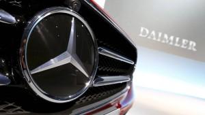 Daimler ruft 840.000 Fahrzeuge mit Takata-Airbags zurück