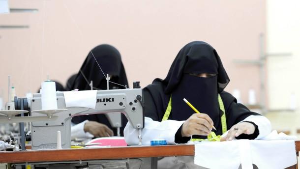 Saudische Braut gibt Mann für Job auf