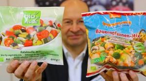 Ob Ratatouille-Mix oder Bauernpfanne - Hauptsache bio.