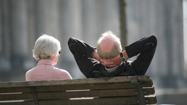 Umfrage zur Altersversorgung