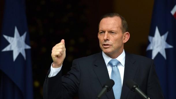 Australiens Abbott auf der Flucht nach vorn