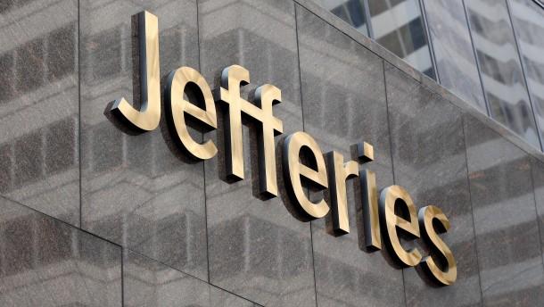Jefferies-Finanzvorstand stirbt an Corona