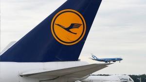 Aktienkurs der Lufthansa im Plus