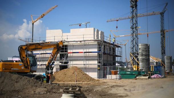 Kabinett berät über Wohnungsbau