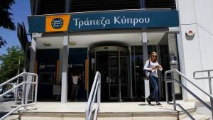 Bank of Cyprus will zurück an die Börse