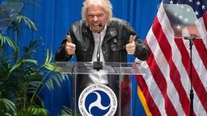 Richard Branson will mit Weltraumfirma an die Börse