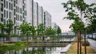 In der Heidelberger Bahnstadt entsteht die größte Passivhaussiedlung der Welt - aber kein günstiger Wohnraum.