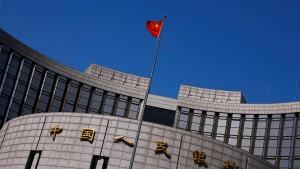 China lässt Yuan auf Tiefstand fallen