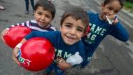 Leichter für Flüchtlinge spenden