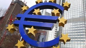 Euro geht auf Talfahrt