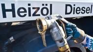 Heizöl hat sich innerhalb von drei Monaten um ein Viertel verbilligt.