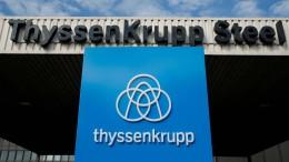 Thyssen-Krupp-Aktie schießt um bis zu 23 Prozent in die Höhe