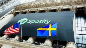 Spotifys Börsenerfolg muss sich noch zeigen